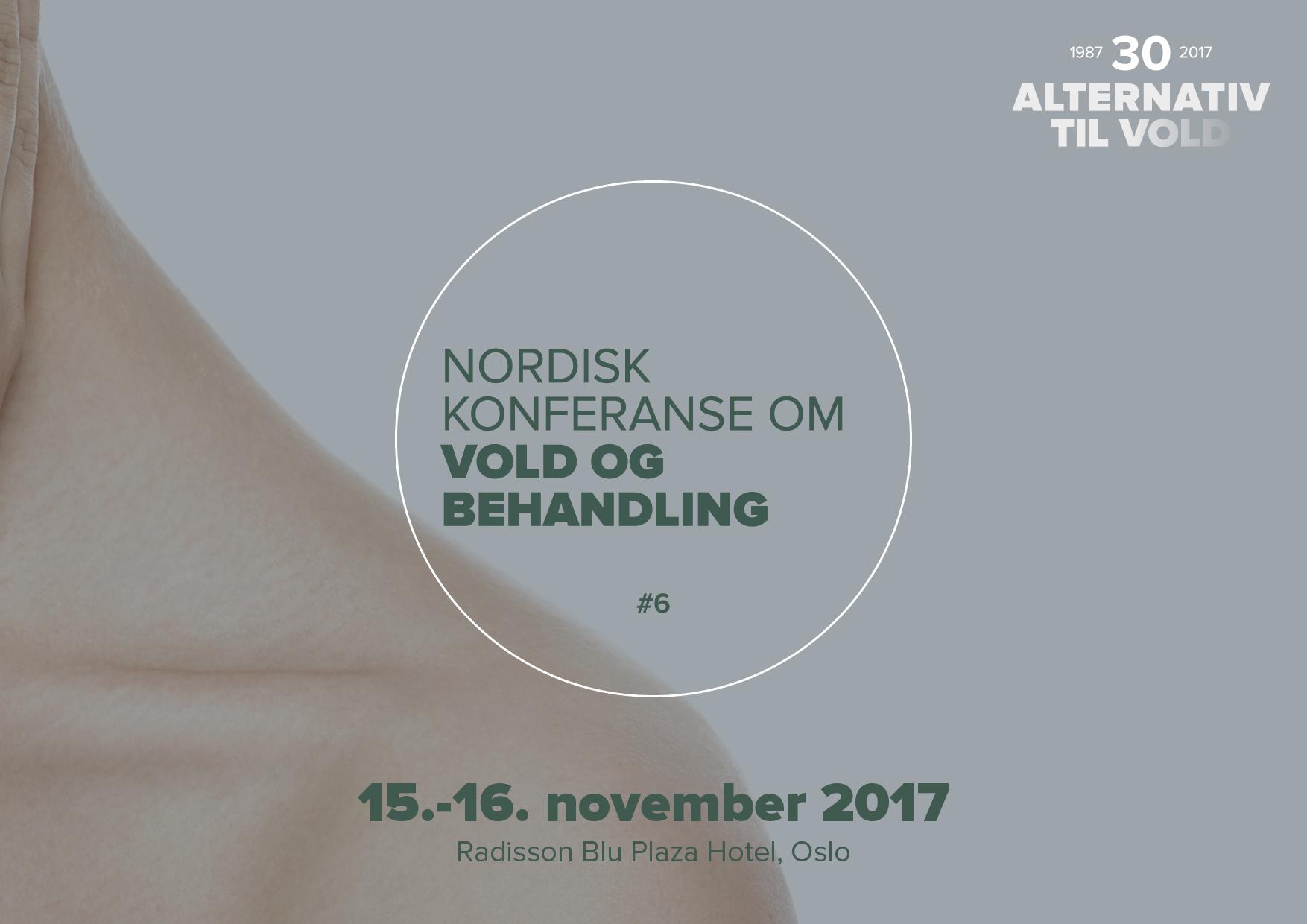 Påmelding til 6. nordiske konferanse om vold og behandling har åpnet