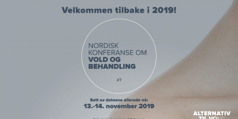 Nordisk konferanse om vold og behandling 2019